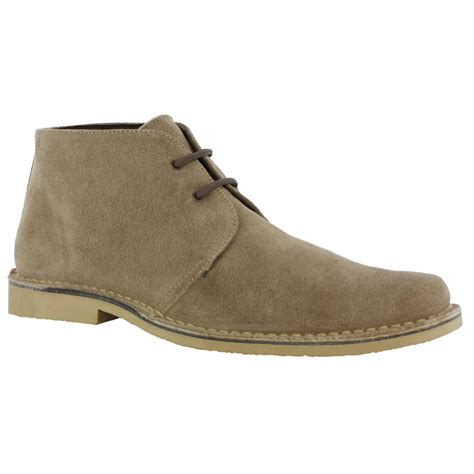 roamers m618 sand suede mens desert boots shoes ebay