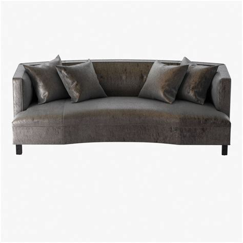 mitchell gold bob williams dumont sofa with buttons 3d
