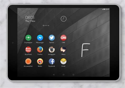 android tablet lollipop nokia n1 8 inch android lollipop tablet with like design and 64 bit intel processor