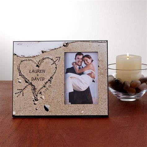 Wedding Gift Idea Personalized Wedding Album by Wedding Frames Personalized Wedding Picture Frame Gifts