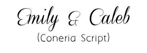 Top 20 Free Fancy Fonts for DIY Wedding Invitations