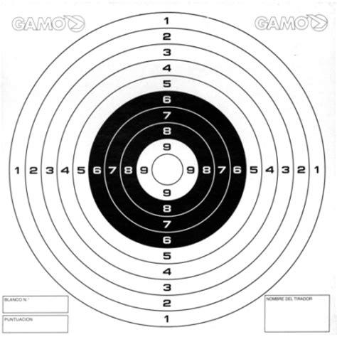 printable air rifle targets targets pellet traps for air guns gamo 10m 33ft air