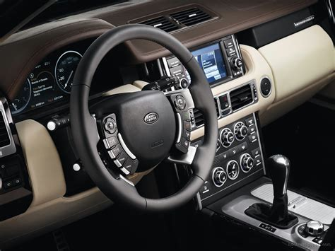 range rover truck interior 2010 land rover range rover interior wallpaper hd car