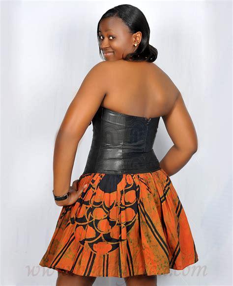 african short dress styles bintiafrica african fashion strapless short dress style