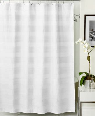 Shower Curtains Macy S by Hotel Collection Woven Pleat Shower Curtain Shower