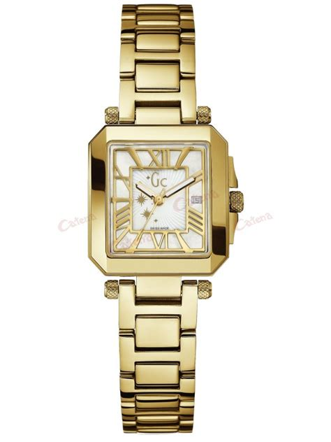 Gc Guess Collection Gold by Guess Collection Gold Stainless Steel Bracelet