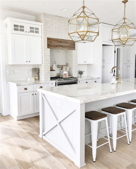 Open Kitchen Layout Ideas by 53 Best White Kitchen Designs Decoholic