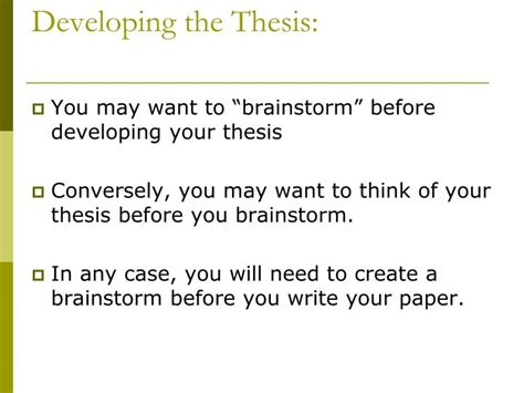 Developing A Thesis Statement For Argumentative Essay by Ppt Argument Counter Argument Essay Powerpoint Presentation Id 5378029