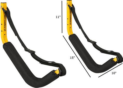 padded kayak wall rack adjustable safety strap