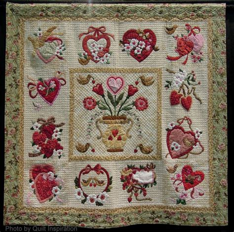 vintage valentine pattern 1000 images about hearts valentine quilts on pinterest