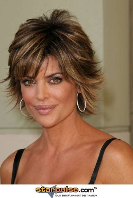 what is the texture of lisa rinna hair lisa rinna hair pinterest