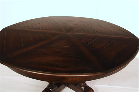 expandable round dining table large 64 to 84 round to round country expandable jupe table