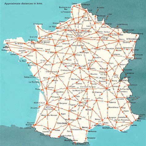 printable road maps of france maps of france bonjourlafrance
