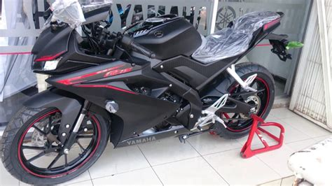 Yamaha All New R15 Matte Black all new yamaha r15 2017 black 155cc vva 2373 on mucis