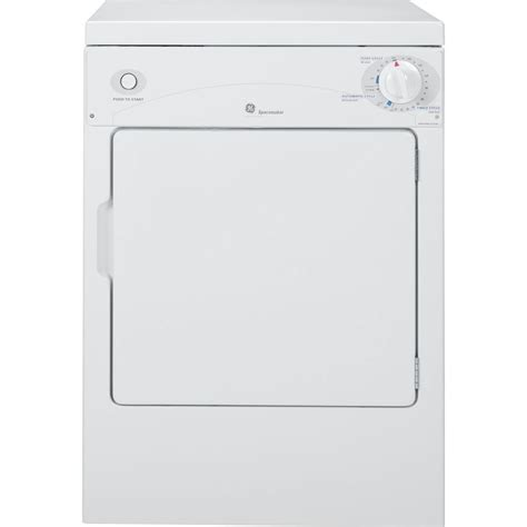 ge spacemaker 3 6 cu ft portable electric compact dryer