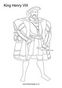 Tudor Colouring Pages Tudor Kings And Queens Colouring Pages by Tudor Colouring Pages