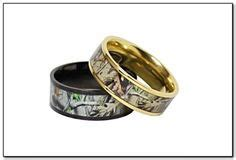 camo promise rings for him and thinking of a