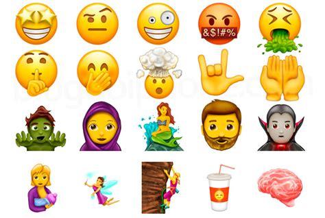 imagenes sobre emoji conhe 231 a todos os novos emoji que chegar 227 o ao iphone ainda
