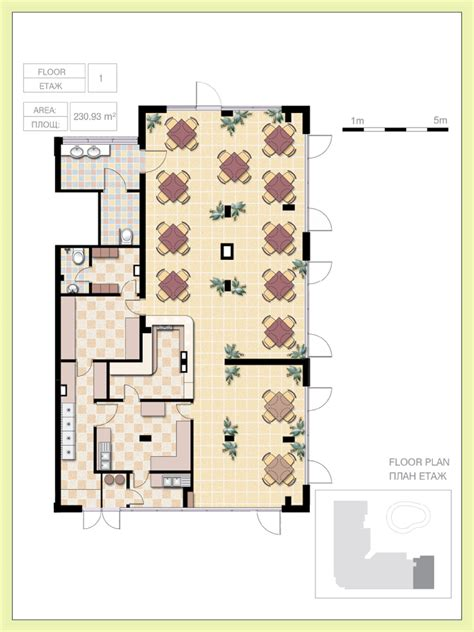 Small Restaurant Floor Plan by Properties And Prices Flores Park Luxury Living In