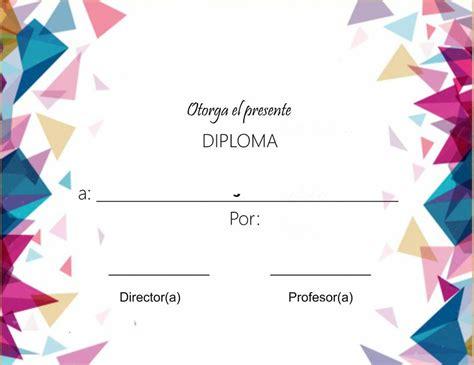diplomas para imprimir s c bienvenido a fichas escolares fichas escolaresfichas