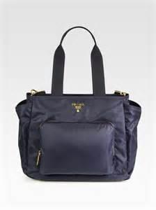 prada baby bag in blue lyst