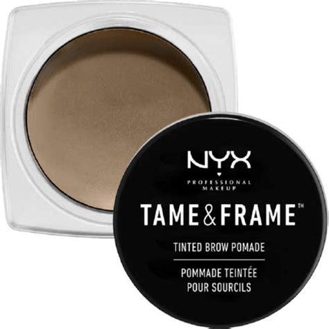 nyx professional makeup and frame brow pomade