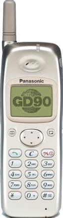 Battery Baterai Panasonic Gd68 Gd67 Bagus panasonic gd90 mobile phone mobiset ru