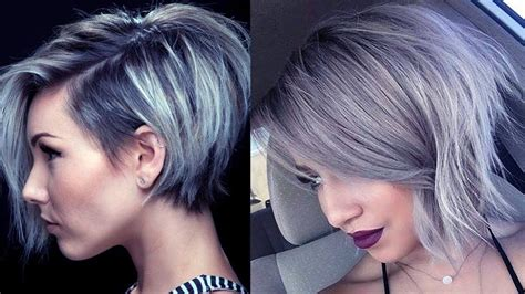how to get body on short gray hair with a perm latest short grey hairstyles short grey hair pics