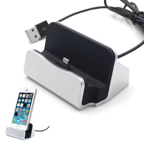 Lightning Dock Charging Iphone 5 6 Charging Iphone Kabel Micro Usb Usb lightning dock charging iphone 5 6 white black jakartanotebook