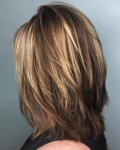 haircut feathered on sides long crown short layered medium length haircut lots of layers in