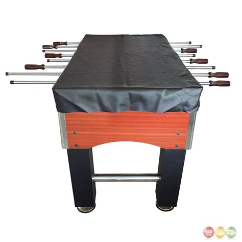 table top covers foosball 56 in table top cover in black faux leather