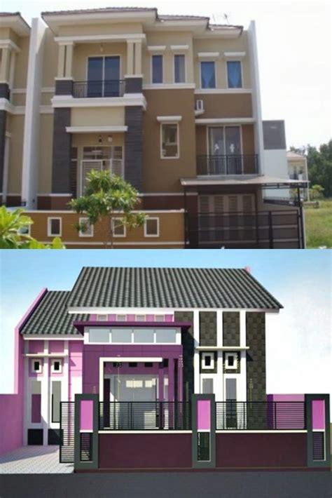 desain rumah bagian depan 20 warna cat rumah minimalis bagian depan yang unik dan