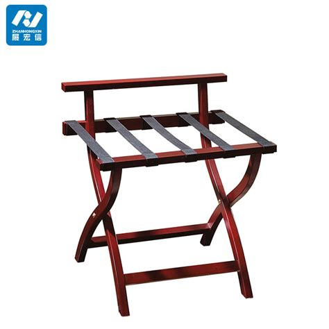 Folding Luggage Rack With Bottom Shelf by Hotel Wood Folding Baggage Shelf Luggage Rack For Modern