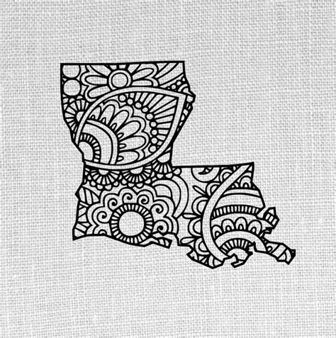 state of louisiana tattoo designs louisiana state svg and studio doodle design by