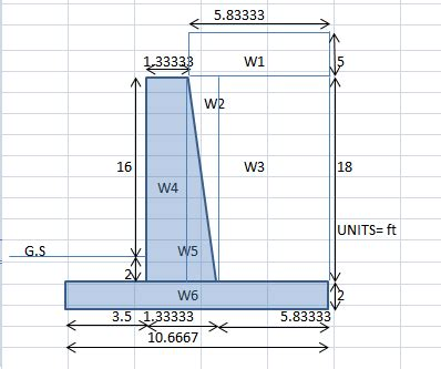 Gravity Retaining Wall Design Spreadsheet by Retaining Wall Design Spreadsheet Wonderful Gravity 23
