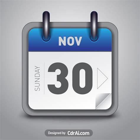 Calendar Icon Vector Calendar Icon Vector Blue Free Cdrai