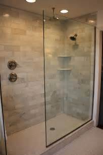 Ideas For Doorless Shower Designs Doorless Walk In Shower Designs Shower Handle On Separate Wall Bathroom Legs