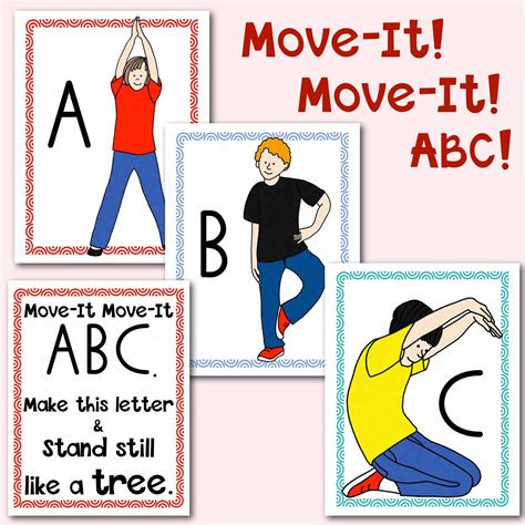 printable alphabet movement cards alphabet movement cards multisensory learning your
