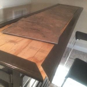 Bar Top Trim by Diy Build Your Own Outdoor Bar