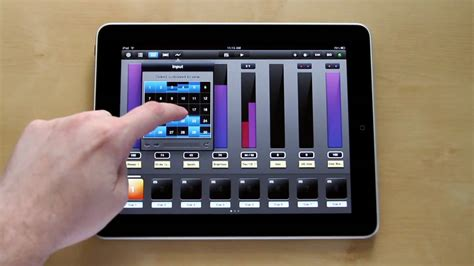 app controlled light switch luminair for ipad multi touch dmx lighting control a