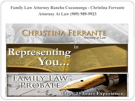 Attorney Rancho Cucamonga 5 family attorney rancho cucamonga ferrante
