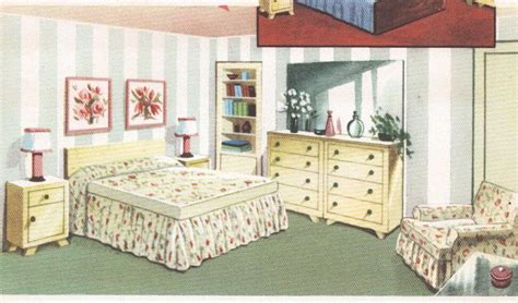 bedroom decor mid century house interior design furniture furnishings vintage house