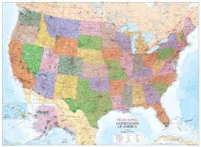united states map scale coutnry wall maps publishing global mapping uk