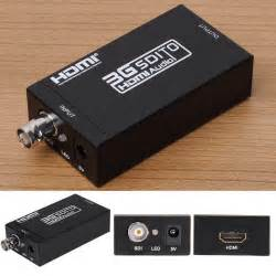 convert coaxial cable to hdmi new 1080p hd sdi to hdmi video audio converter adapter