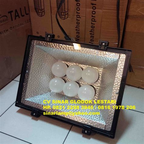 Lu Sorot Led 50 Watt Philips lu sorot led hemat energy 6 x 18 watt philips