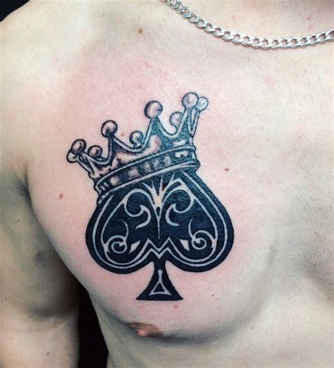 king of spades tattoo 70 spade designs for one of the suits