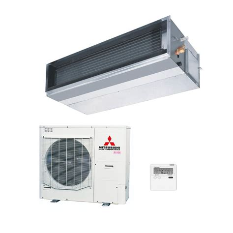 12 5kw mitsubishi electric ducted inverter changeover existing mitsubishi heavy industries air conditioning fdum125vf1 ducted 12 5kw 42000btu heat pump