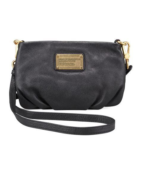 Classic In Black In Marc By Marc Satin Pumps by Marc By Marc Classic Q Percy Crossbody In Black Lyst