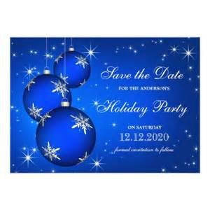 Holiday party save the date templates 5x7 paper invitation card
