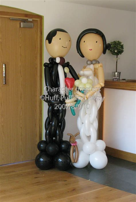 Balon Wedding Groom huff puff balloons 187 balloon brides grooms